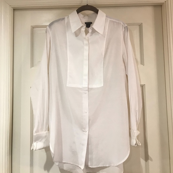 Club Monaco Tops - Club Monaco White Blouse